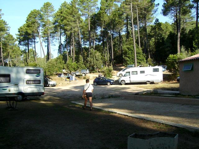 Les camping-cars au camping